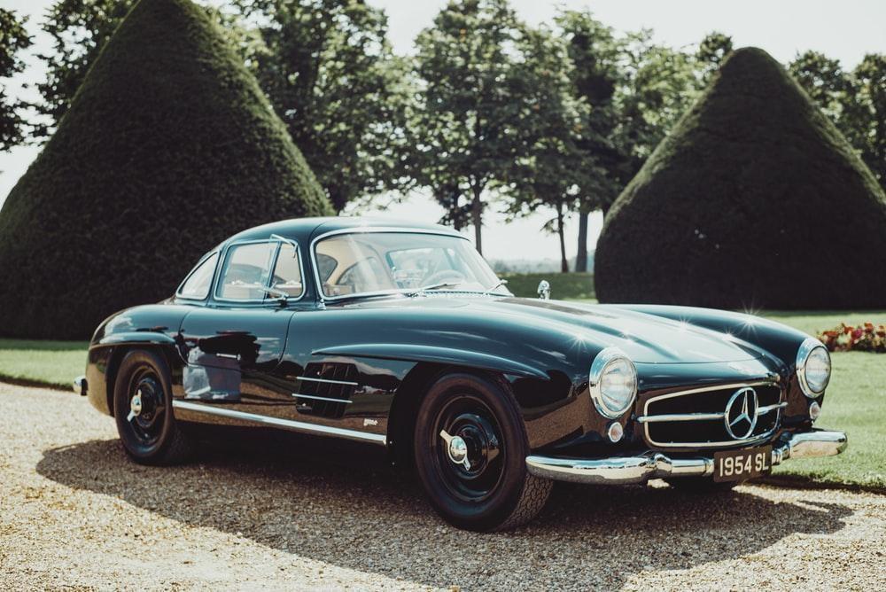 Vintage Mercedes SL, Germany